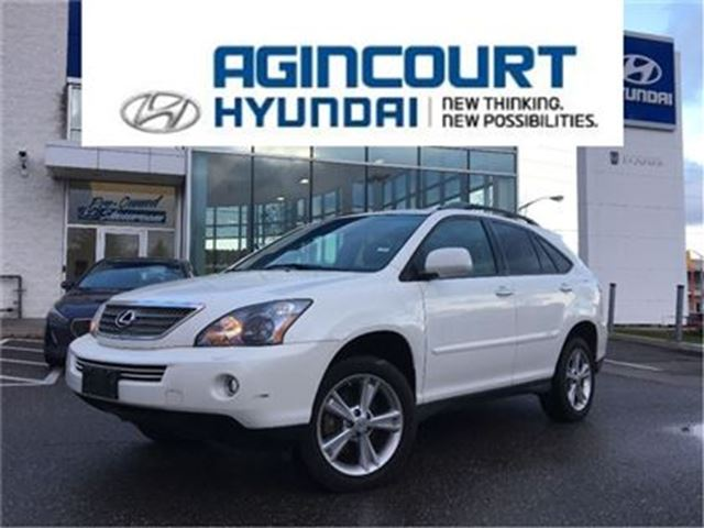 2008 LEXUS RX 400 h HYBRID/NAVI/BCAM/LEATHER/ONLY 95538KMS in Toronto, Ontario