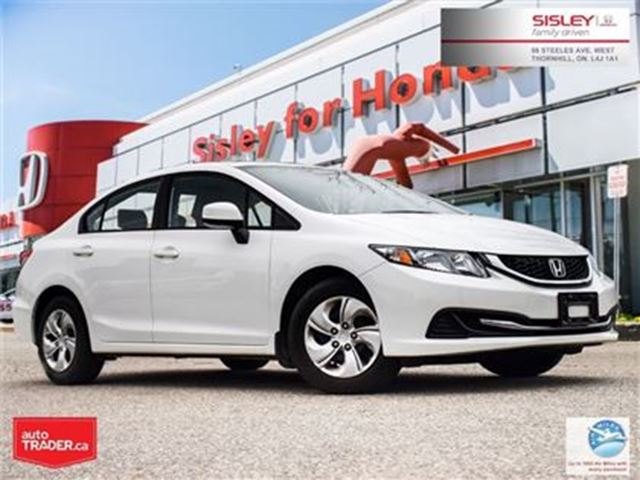2013 HONDA CIVIC LX (A5) in Thornhill, Ontario