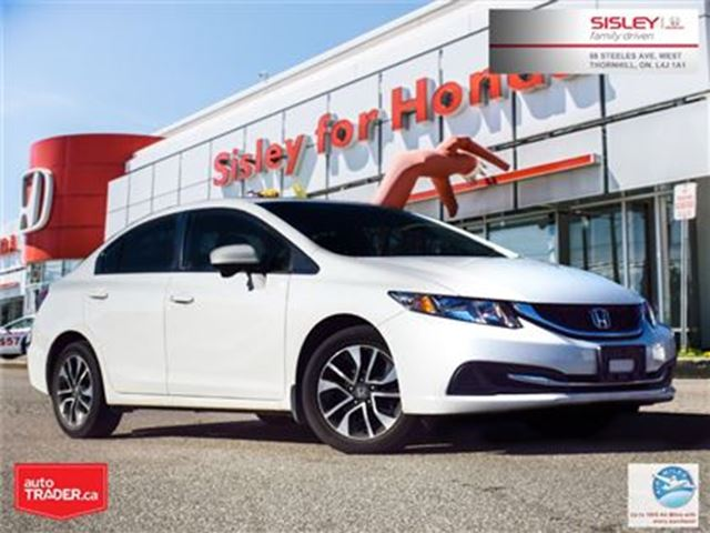 2015 HONDA CIVIC EX in Thornhill, Ontario