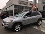 2017 Jeep Cherokee Limited.Leather Pan Roof/Navi/ in Burlington, Ontario