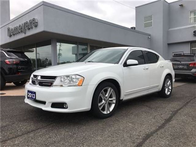 2013 Dodge Avenger SXT POWER SUNROOF in Simcoe, Ontario