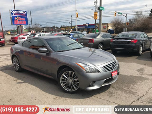 2012 INFINITI G37 x Sport   NAV   LEATHER   ROOF   AWD in London, Ontario