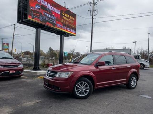 2011 DODGE JOURNEY R/T   AWD   LEATHER   ROOF   7PASS in London, Ontario