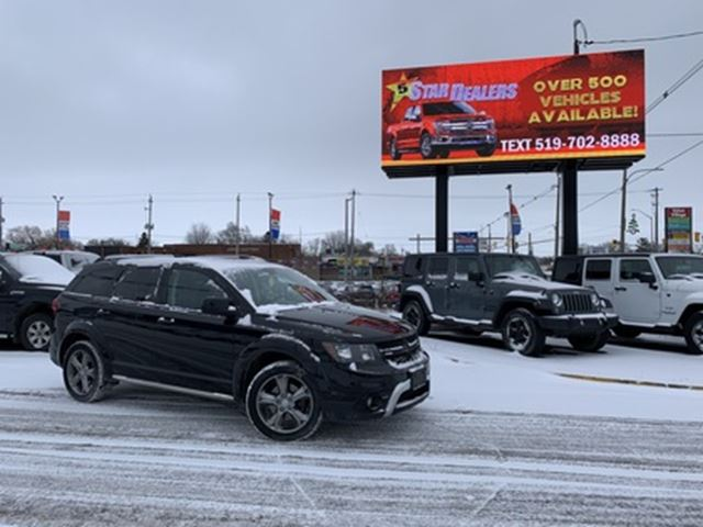 2017 DODGE JOURNEY Crossroad   AWD   LEATHER   7PASS in London, Ontario