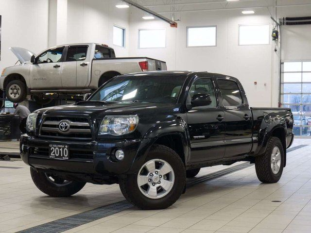 2010 TOYOTA TACOMA TRD Sport V6 DoubleCab 4WD w/Leather in Kelowna, British Columbia