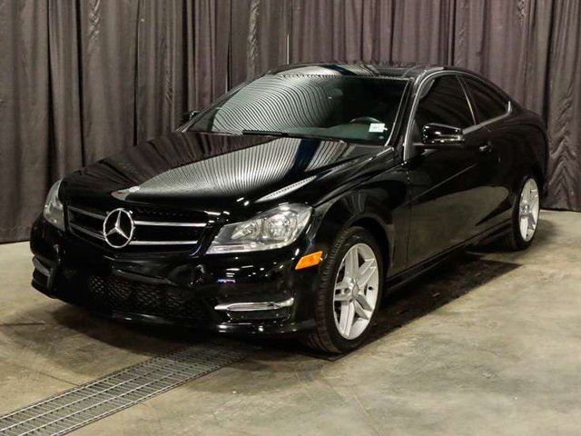 2014 MERCEDES-BENZ C-CLASS AMG WheelPkg * $199 B/W,NAV,LTHR in Red Deer, Alberta