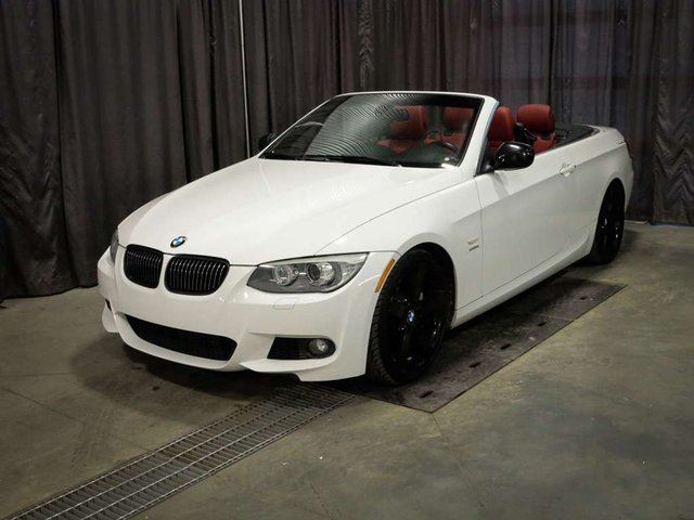 2011 BMW 3 SERIES IS Convertible Leather, Nav, **252 bw!!! in Red Deer County, Alberta
