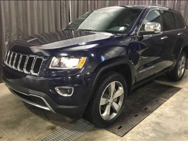 2016 JEEP GRAND CHEROKEE Limited v6. Back up camera, Leather, Nav.*265BW! in Red Deer, Alberta