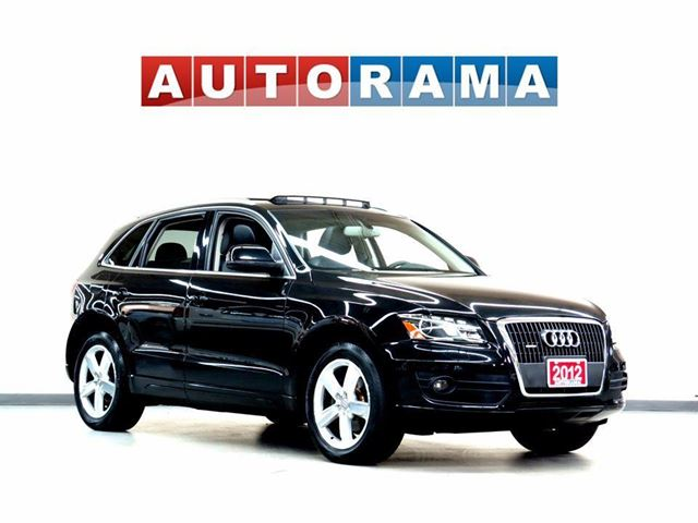 2012 AUDI Q5 NAVIGATION LEATHER PAN SUNROOF 4WD BACKUP CAM in North York, Ontario