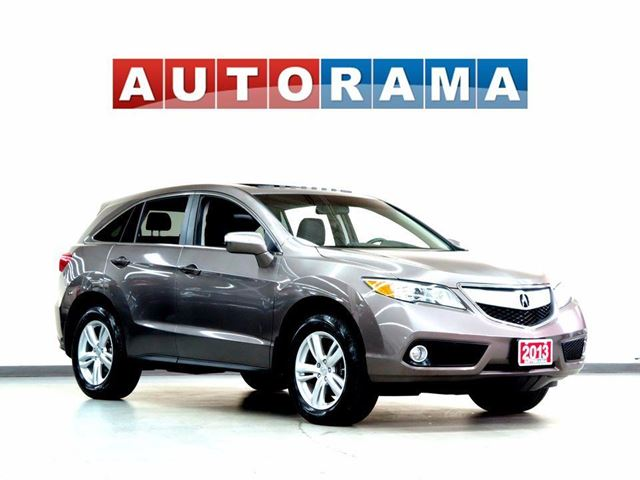 2013 Acura RDX LEATHER SUNROOF 4WD in North York, Ontario