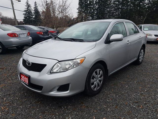 2010 TOYOTA COROLLA LE LOW KMS in Stouffville, Ontario