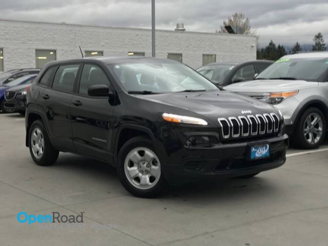 2015 JEEP CHEROKEE Sport A/T 4WD No Accident Local Bluetooth USB A in Port Moody, British Columbia