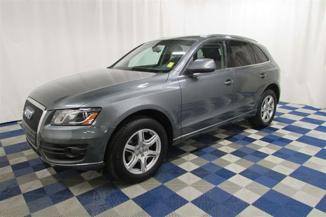 2012 AUDI Q5 2.0T Premium AWD/LEATHER/HTD SEATS/BLUETOOTH in Winnipeg, Manitoba