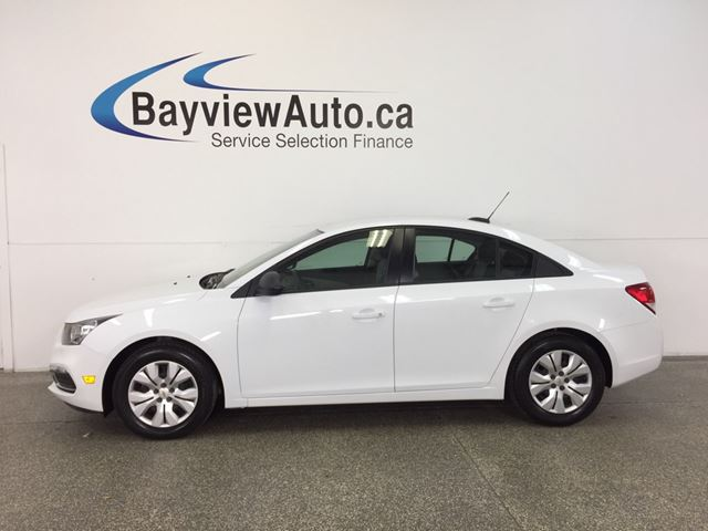 2015 CHEVROLET CRUZE LS- 6 SPEED|ON STAR|PWR GROUP|LOW KM|BUDGET BUDDY! in Belleville, Ontario