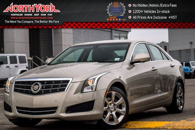 2014 CADILLAC ATS Luxury AWD Cold Wthr.Pkg BOSE Keyless_Go Nav Pkng_Sensors in Thornhill, Ontario