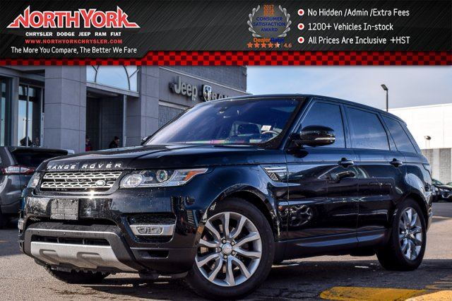2016 LAND ROVER RANGE ROVER Sport Td6 HSE in Thornhill, Ontario