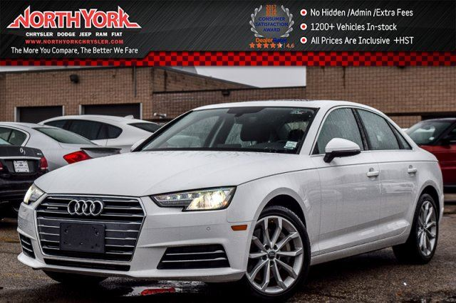 2017 AUDI A4 Progressiv in Thornhill, Ontario