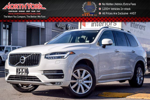 2017 VOLVO XC90 T6 Momentum AWD 7-Seater Heads Up Pano_Sunroof Nav LED Lights 19Alloys in Thornhill, Ontario