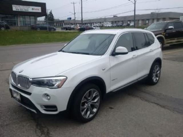 2015 BMW X3 AWD xDrive28d w/Premium Package in Mississauga, Ontario
