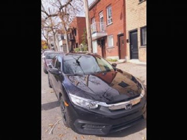 2016 HONDA CIVIC CVT LX with Lease Protection in Mississauga, Ontario