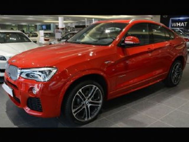 2017 BMW X4 xDrive28i M SPORT LINE + Premium Enhanced in Mississauga, Ontario