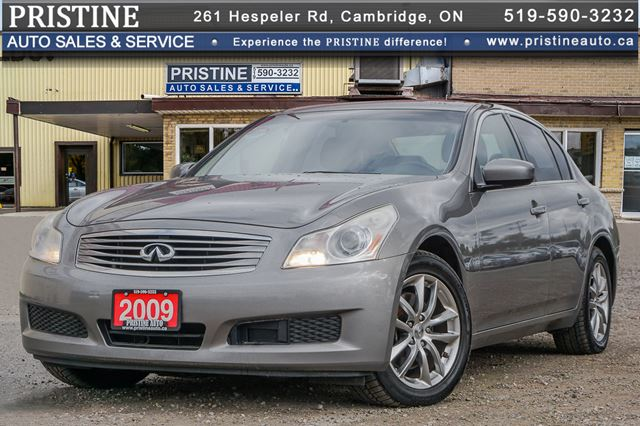 2009 Infiniti G37 X Sport AWD Navi. Only 149km Reverse Camera  in Cambridge, Ontario