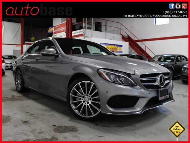 2015 Mercedes-Benz C-Class C400 4MATIC SPORT | PREMIUM | INTELLIGENT DRIVE in Woodbridge, Ontario