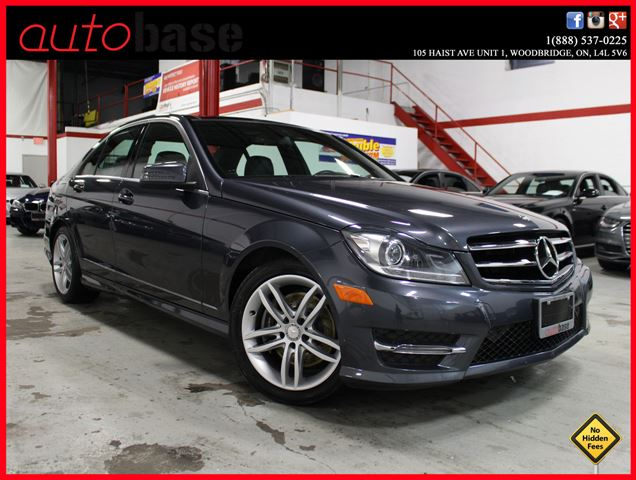2014 Mercedes-Benz C-Class C300 4MATIC NAVI|PANORAMIC|BLINDSPOT|BI-XENON in Woodbridge, Ontario