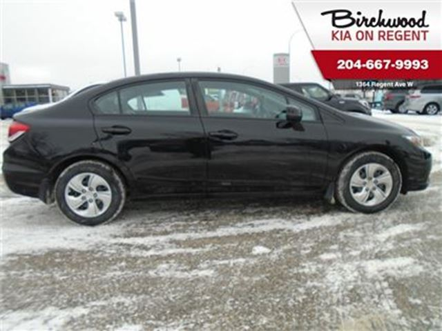 2013 HONDA CIVIC LX *Annual Madness Sale Event* in Winnipeg, Manitoba