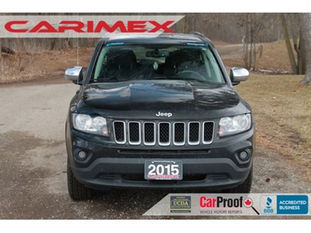 2015 JEEP COMPASS Sport/North 4x4   CERTIFIED in Kitchener, Ontario