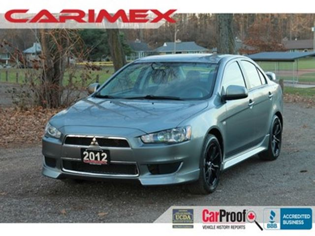 2012 MITSUBISHI LANCER SE AWC All-Wheel-Drive   Alloys   CERTIFIED in Kitchener, Ontario