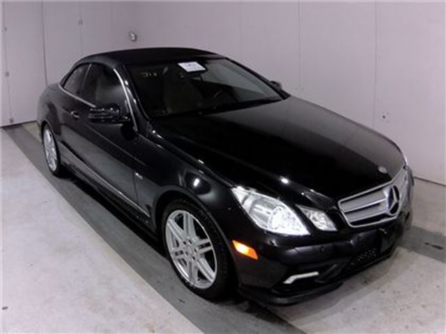 2012 Mercedes-Benz E-Class SOLD SOLD SOLD E350 AMG PKG Navigation 19, 000 Kms in St George Brant, Ontario