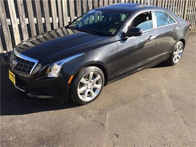 2014 CADILLAC ATS Automatic, Leather, Sunroof, Only 45,000km in Burlington, Ontario