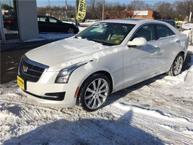 2015 CADILLAC ATS Luxury, Sunroof, AWD, Only 57,000km in Burlington, Ontario