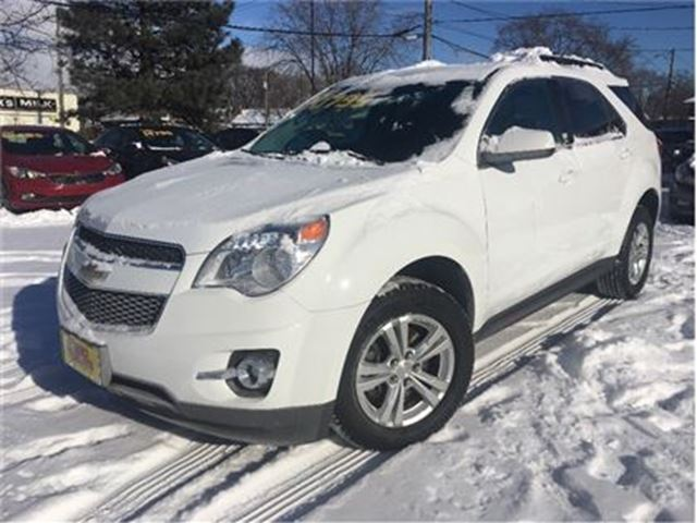 2015 CHEVROLET EQUINOX LT 2LT AWD LEATHER BACK UP CAMERA in St Catharines, Ontario