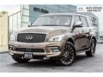 2015 Infiniti QX80 4WD, Limited, Tech Pkg! DVD, Suede Headliner! in Mississauga, Ontario