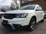 2017 Dodge Journey Crossroad**7 PASS**REAR VID*NAV**ROOF** in Mississauga, Ontario