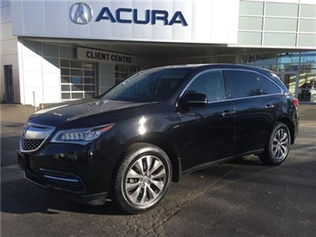 2014 ACURA MDX Navigation Package in Burlington, Ontario