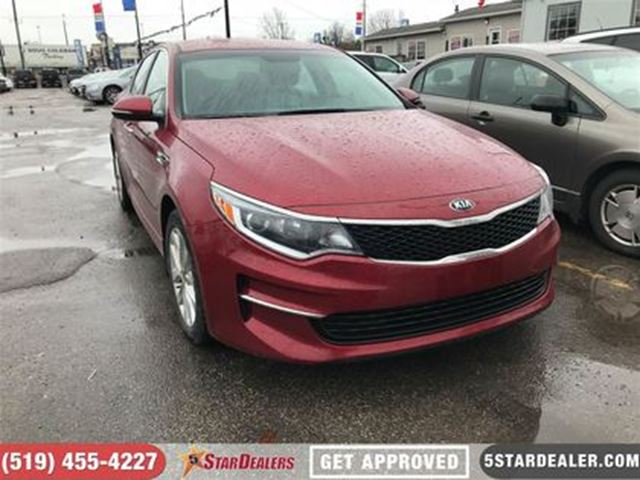 2017 KIA OPTIMA LX+   ONE OWNER   CAM   HEATED SEATS in London, Ontario