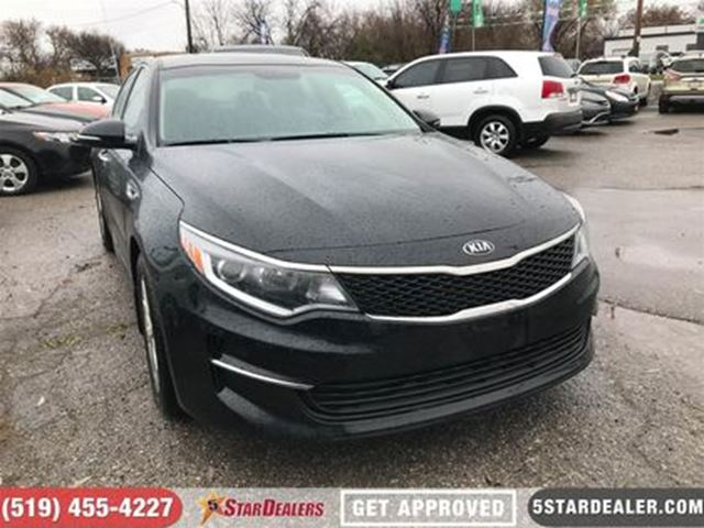 2016 KIA OPTIMA LX+   ONE OWNER   CAM   HEATED SEATS in London, Ontario