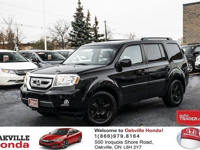 2011 HONDA PILOT EX-L 4WD 5AT in Oakville, Ontario