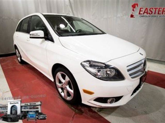 2014 MERCEDES-BENZ B-CLASS B250 BLUETOOTH 17 ALOOY RIMS A/C *LOW KM* in Winnipeg, Manitoba