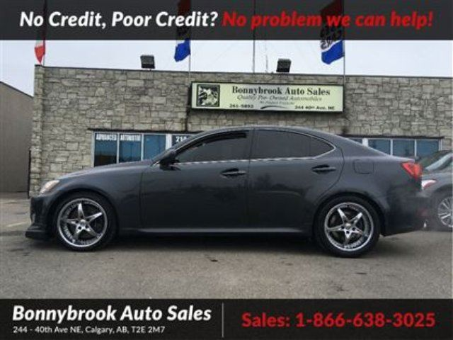 2008 LEXUS IS 350 Sport leather heated seats power sunroof in Calgary, Alberta