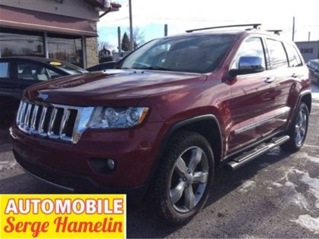 2013 JEEP GRAND CHEROKEE Overland in Chateauguay, Quebec
