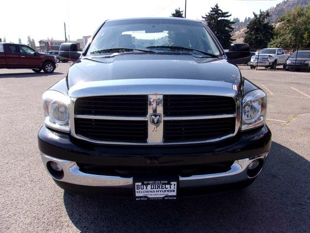 2007 DODGE RAM 1500 SLT 4x4 Quad Cab 160.5 in. WB in Kelowna, British Columbia