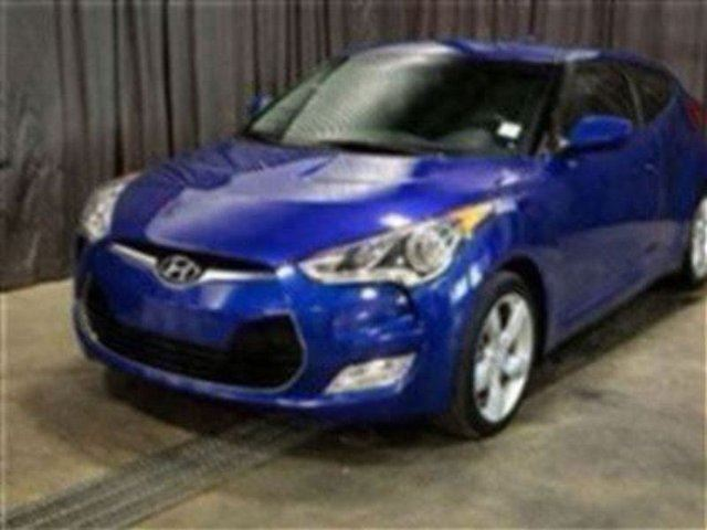2013 HYUNDAI VELOSTER Manual, paddle Shifters! $126 BW in Red Deer, Alberta