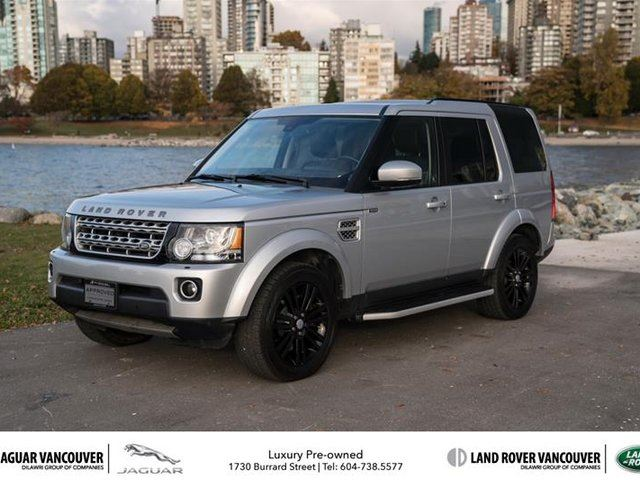 2015 LAND ROVER LR4 HSE LUX in Vancouver, British Columbia