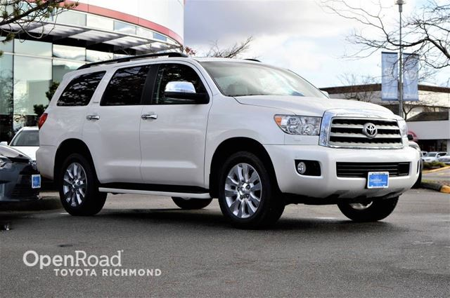 2014 TOYOTA SEQUOIA Platinum, RARE in Richmond, British Columbia