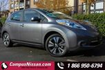 2015 Nissan Leaf SL  in Victoria, British Columbia
