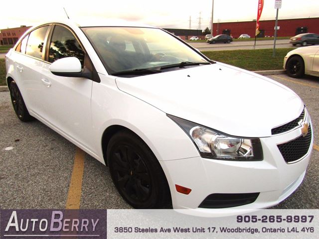 2014 Chevrolet Cruze 1LT - 1.4L - FWD in Woodbridge, Ontario